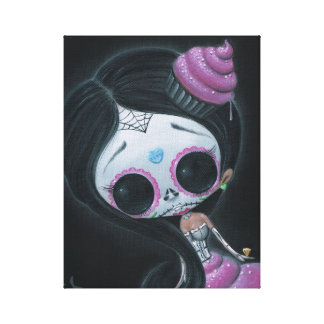 Doll of the Dead Canvas Print
