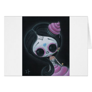 doll of the dead greeting card