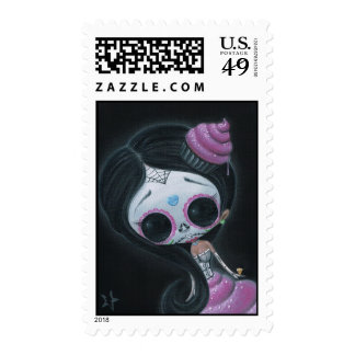 Doll of the Dead Postage Stamps