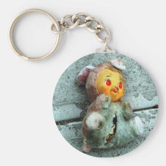 Doll on Ground Keychain