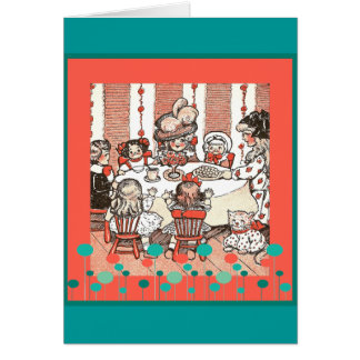 Doll Party Card