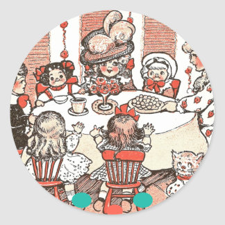 Doll Party Stickers