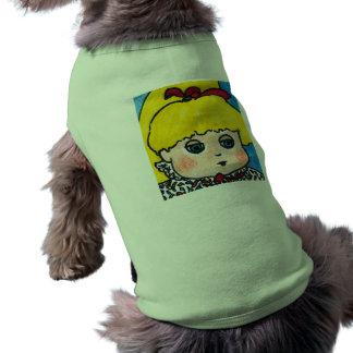 Doll portrait pet clothing