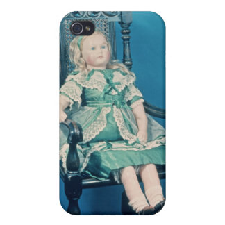 Doll, probably made by Charles Marsh, 1865 iPhone 4/4S Covers
