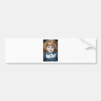 Doll Puppet show Eyes Bumper Sticker