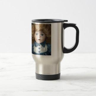 Doll Puppet show Eyes 15 Oz Stainless Steel Travel Mug