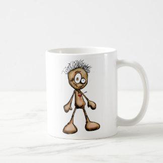 doll shirt classic white coffee mug