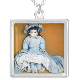 Doll Silver Plated Necklace