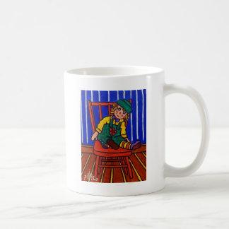 Doll Sitting by Piliero Coffee Mug