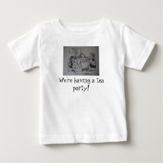 Doll Tea Party toddler tshirt
