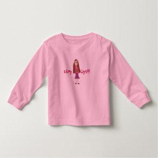 DOLL TSHIRT, okay       bye! Toddler T-shirt