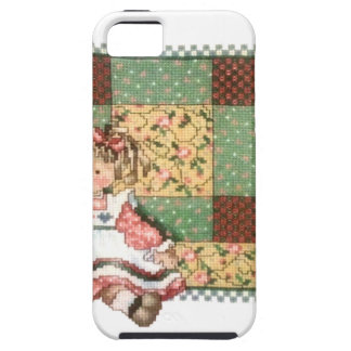 Doll with Quilt iPhone SE/5/5s Case