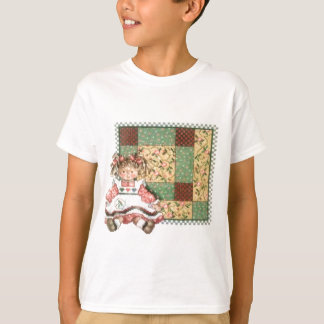 Doll with Quilt T-Shirt