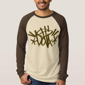DOLLA brown tag shirt