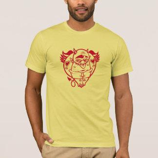 DOLLA red devil shirt