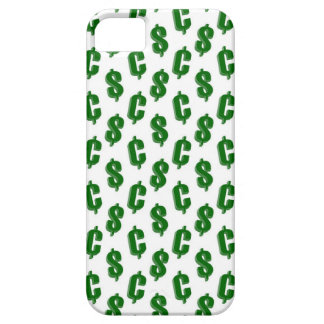 Dollar and cent signs pattern iPhone SE/5/5s case
