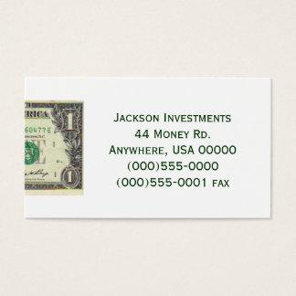 """Dollar Bill"" Business Card"
