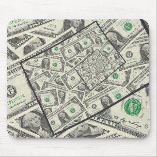 Dollar Bills Design Mouse Pad