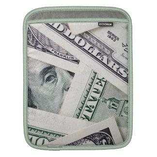 Dollar bills ipad case iPad sleeve