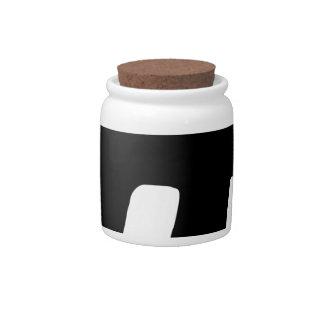 Dollar Cash Art and Design Candy Jar