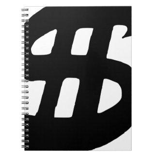 Dollar Cash Art and Design Spiral Note Book