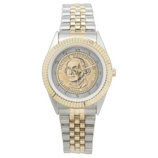 Dollar coin wristwatch
