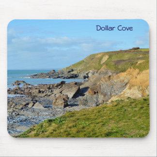 Dollar Cove Cornwall England Poldark Location Mouse Pad