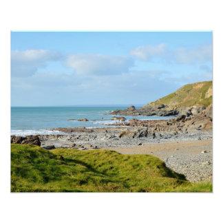 Dollar Cove Cornwall England Poldark Location Photograph