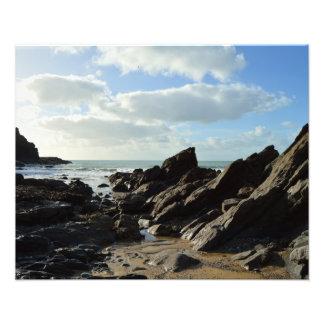 Dollar Cove Cornwall England Poldark Location Photo Print