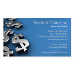 Dollar Currency Symbols Double-Sided Standard Business Cards (Pack Of 100)