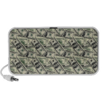 Dollar Notes iPod Speakers