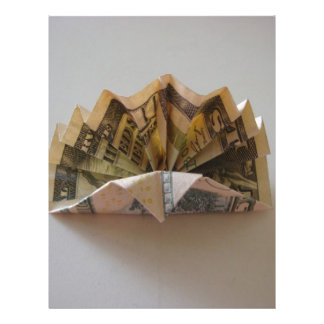 Dollar Origami Turkey Flyer