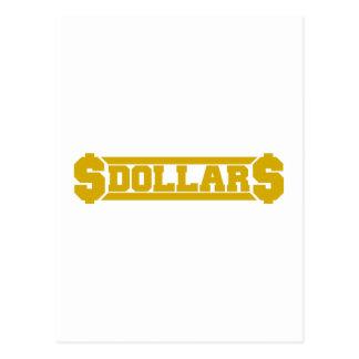 Dollar Postcards