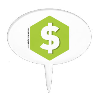 DOLLAR products Cake Topper