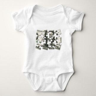 Dollar Puzzle Baby Bodysuit