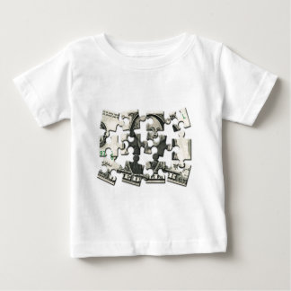 Dollar Puzzle Baby T-Shirt