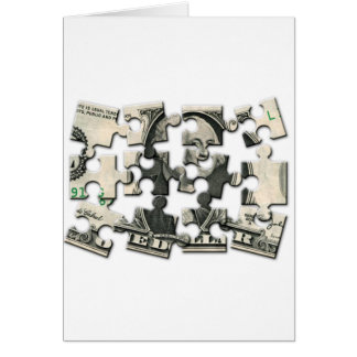 Dollar Puzzle Card