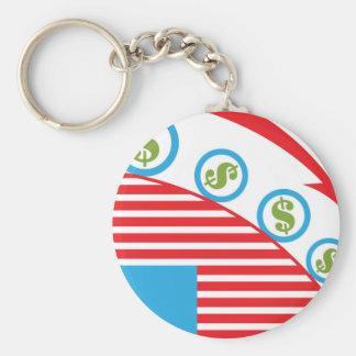 Dollar Roll Keychain