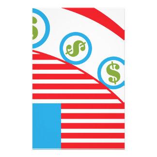 Dollar Roll Stationery