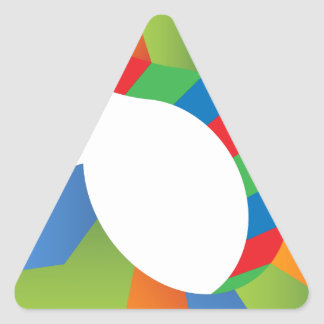 Dollar Sign Arrow Chevron  Icon Triangle Sticker