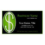 Dollar Sign Business Card