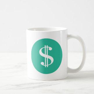 Dollar Sign Coffee Mug