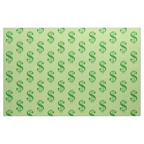 Dollar Sign Fabric