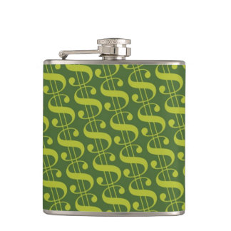 Dollar Sign Flask