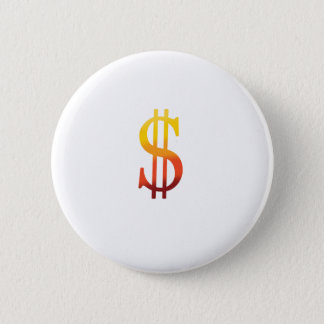Dollar Sign in Color Button