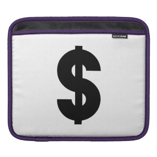 Dollar Sign Sleeves For iPads