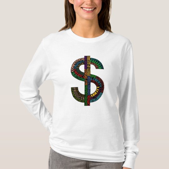 Dollar Sign light shirts