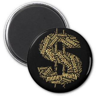 Dollar sign magnet