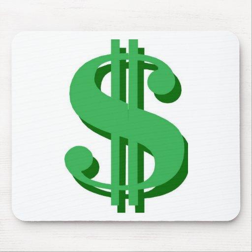 $ dollar-sign mousepads