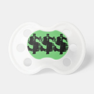 Dollar sign pacifier